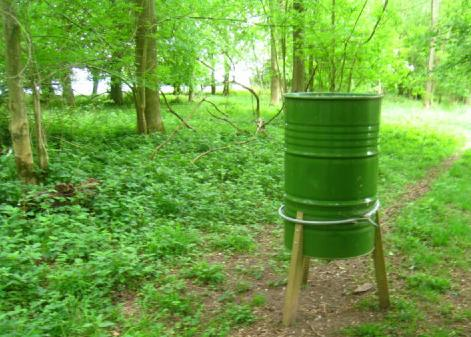 green barrel